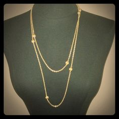 Chic and Classic Vintage Goldtone Necklace Chic and Classic Vintage Goldtone Necklace Accessories