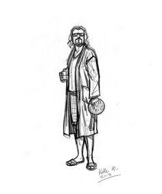 The Dude - The Big Lebowski - Kalle Malloy