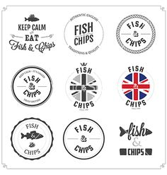 56 New Ideas For Seafood Restaurante Branding Fish And Chips Chips Restaurant, Restaurant Menu Design, Logo Restaurant, Fish Eat Fish, Fried Fish, Fish And Chips Menu, British Fish And Chips, Food Truck Festival, Fish And Chip Shop