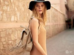 The era is as much an inspiration for Spanish Inditex group company Bershka as it is for most of Fashion Images, Fashion News, Marrakech Travel, Modern Moroccan, Ss 15, Spring Summer 2015, Fashion Shoot, A Team, Morocco