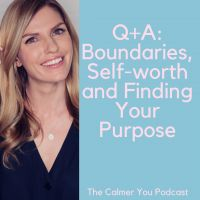 Ep Q+A: Boundaries, Self-worth and Finding Your Purpose Jess Lively, Virtual Hug, Healthier You, On Today, Happy Moments, Little Books, Listening To You, Health And Wellbeing, New Girl