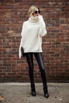 Кежуал предлози: Како да го носите омилениот топол џемпер?