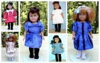 Pattern Kit for Mini American Girl Dolls
