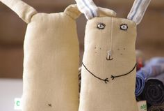 Serious bunny by adatine on Etsy