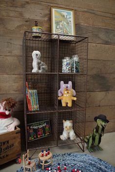Wire Storage Unit | Wired | Vincent and Barn