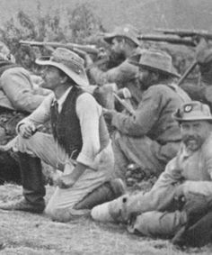 Boer Wars Boer soldiers at Ladysmith, South Africa, circa 1899 Bbc History, African History, British History, World History, Zulu, British Army, Military History, Historical Photos, Warfare