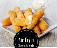 Air Fryer-Mozzarella Sticks
