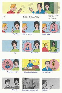 Audiovisuelle Methode Nederlands 1 - Les 1 : Een bezoek (DIALOOG) - deel 1