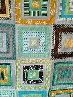 Natural Canasta Quilt.... excellent color choices.