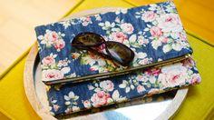 Foldover Clutch Purse Free Sewing Tutorial