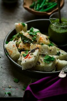Khatta Dhokla - White Dhokla - Recipe - Binjal's VEG Kitchen