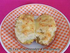 Les Gourmandes Astucieuses (Cuisine végétarienne): Pommes de terre et pâtisson gratinés au four