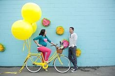 Fun, Colorful Maternity Photos