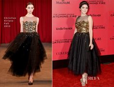 Isabelle Fuhrman In Christian Siriano – 'The Hunger Games: Catching Fire' LA Premiere