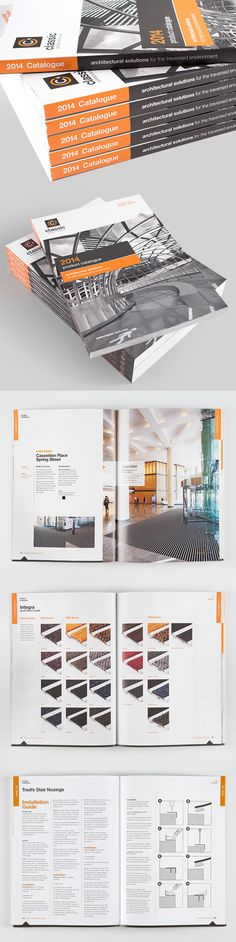 Classic Architectural Group 2014 catalogue by Trevor Vella, via Behance