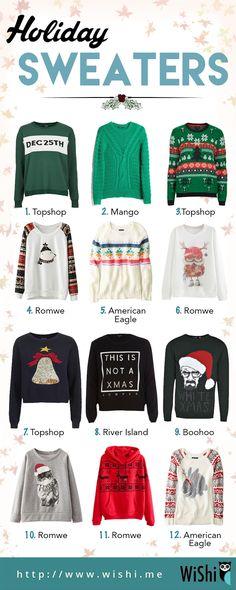 Wishi Holiday Sweaters!