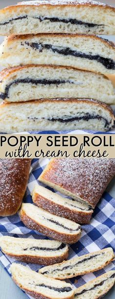 The Rise Of Private Label Brands In The Retail Meals Current Market This Poppy Seed Roll With Cream Cheese Recipe Is A Soft Yeast Bread Roll With Cream Cheese And Poppy Seed Filling. This Easy Recipe Will Become A Favorite, Without A Doubt. Easy No Bake Desserts, Delicious Desserts, Dessert Recipes, Cream Cheese Rolls, Cream Cheese Recipes, Pavlova, Cobbler, Cheesecake Oreo, Sweet Roll Recipe
