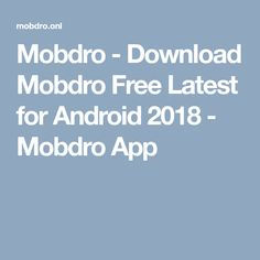 Mobdro - Download Mobdro Free Latest for Android 2018 - Mobdro App