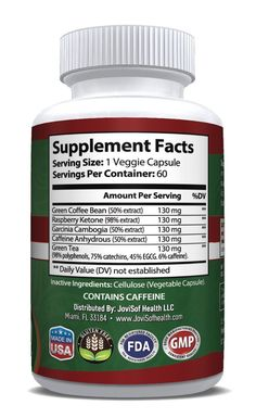 Ultra Pure Garcinia Cambogia Green Tea Extract  Best Weight Loss Pills with Green Coffee Bean #WeightLossForWomenIdeas