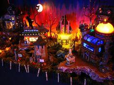 halloween village displays | MyScaryHalloween.com ~ Village 101