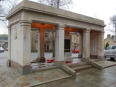 The walk through memorial on Albert Road in Colne is particularly special to us due to its local proximity to our business.  The work required after full scaffold access was erected was to fully clean the memorial using a combination of nebulous intermittent water cleaning and super heated steam for the sandstone plinths and steps.  The Portland stone was restored insitu where previous poor cementitious repairs had been carried out and failed.