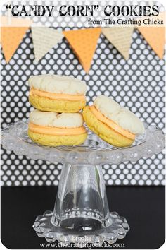 "Candy Corn"" Cookies"
