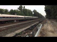 Amtrak #73 southbound out of Lorton Va. 9/2/15 - YouTube