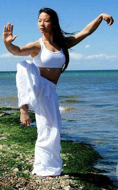 Arte marcial - exercícios - Tai Chi Chuan                                      ...