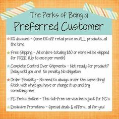 PC Perks are an excellent way to save $$$ with Rodan + Fields! You get 10% off your orders, and free shipping! #pcperks