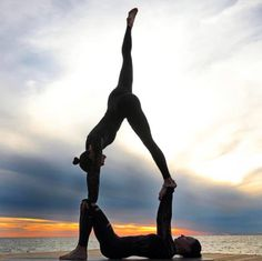 For some reason when I hit 30 (late last year) I started to understand the importance of stretching and flexibility. To add some fun into that task, I started doing Acroyoga a couple months ago with my wife. We're both still quite terrible, but... one day at a time.