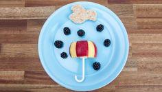 Obstregen #fruit #foodie #apple #blackberries #yummy