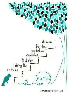 Ovarian Cancer Awareness ~ Faith is taking the first step ...