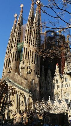 Sagrada Familia Cathedral, Catalonia, Spain
