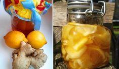 Jak naložit zázvor s medem a citrónem pro posílení imunity, na nemoci a hubnutí Home Health, Health Fitness, Health Advice, Health And Wellbeing, Kimchi, Pickles, Health And Beauty, Healthy Living, Food And Drink