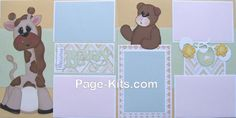 Precious Baby Page Kit. Direct Link: http://www.page-kits.com/item_791/Precious-Baby-Giraffe-Page-Kit.htm