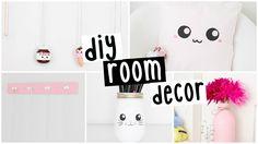 DIY Room Decor - Four EASY & INEXPENSIVE Ideas! - YouTube