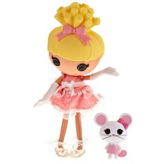 Lalaloopsy doll Em has. Cinder Slippers