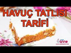 Havuç Tatlısı Tarifi - Nefis Yemek Tarifleri Cheesecake, Food And Drink, Pie, Sweets, Desserts, Hampers, Amigurumi, Torte, Tailgate Desserts