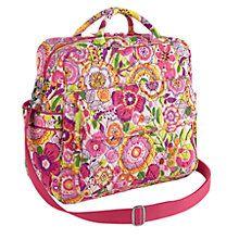 Convertible Baby Bag in Petal Paisley | Vera Bradley