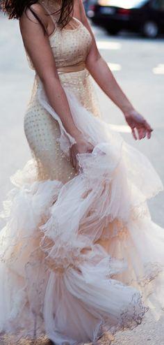 Tulle gown / IDA SJÖSTEDT