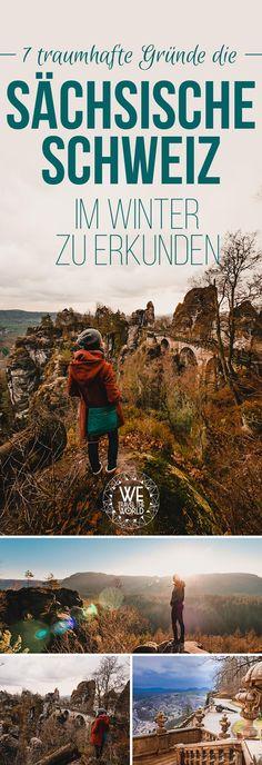 Deutschland Kurzurlaub: Sächsische Schweiz unsere 7 schönsten Sächsische Schweiz Sehenswürdigkeiten & Reisetipps zu Weihnachten, wie die Schrammsteine, Kuhstall, die Bastei, Festung Königstein. #deutschland #winterurlaub #reisetipp