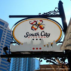 South City Kitchen, Atlanta.  where i learned i liked grits, after all.