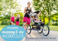 8 Workouts for Busy Moms