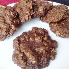 Cookies! de cacao avena y nueces.