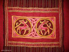 oseberg inspired embroidery