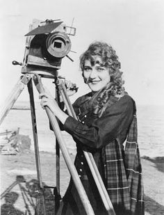 "Mary Pickford ""My Best Girl"" and camera"