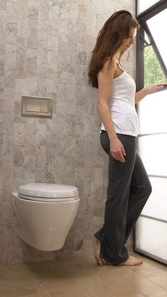 Buy the TOTO undefined undefined Direct. Shop for the TOTO undefined undefined Aquia One Piece Elongated / GPF Toilet with Dual Max Flush System - Less Seat and save. Best Bathroom Vanities, Bathroom Faucets, Bathrooms, Dual Flush Toilet, Wall Hung Toilet, Jack And Jill Bathroom, Small Bathroom Storage, Modern Bathroom Decor, Toilet Bowl