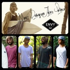 DARE TO BE ENVIED! ENVY CLOTHING LAUNCHES FIRST ORGANIC COLLECTION