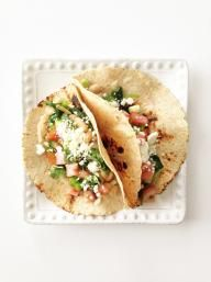 Spinach & White Bean Tacos | KitchenDaily.com