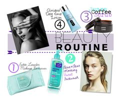 """""""Morning Beauty Routine !!!"""" by em-styles-16 ❤ liked on Polyvore featuring beauty, Estée Lauder, Clean & Clear, Juara, Clinique, Beauty and beautyroutine"""
